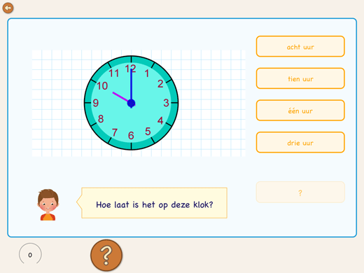 Learn to read the Dutch clock