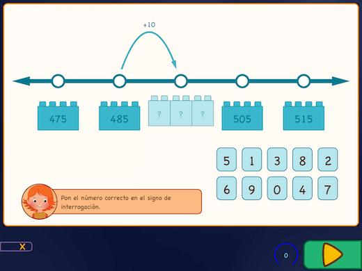 En estos ejercicios, te acercarás al cálculo con grandes números.