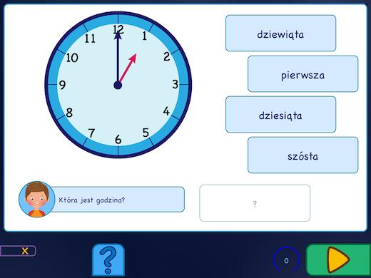 Nauka zegara kołowego. Wiesz którą godzinę pokazuje zegar?